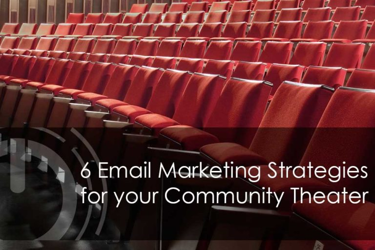 email marketing for theater