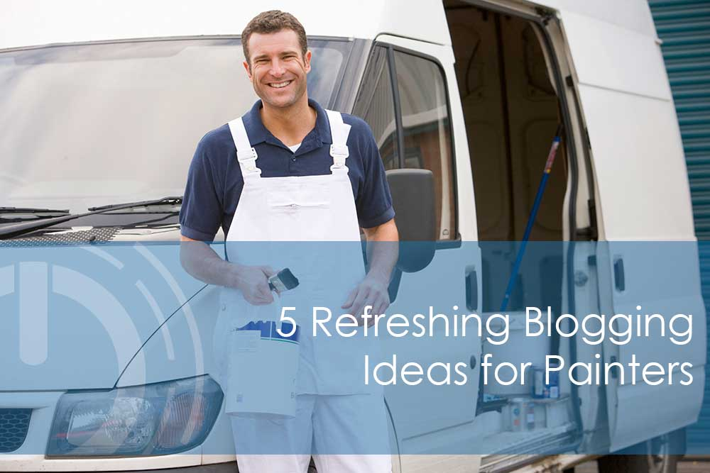 blogging for painters