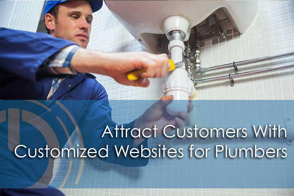 customized plumbing website