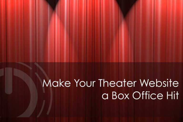 theater website design
