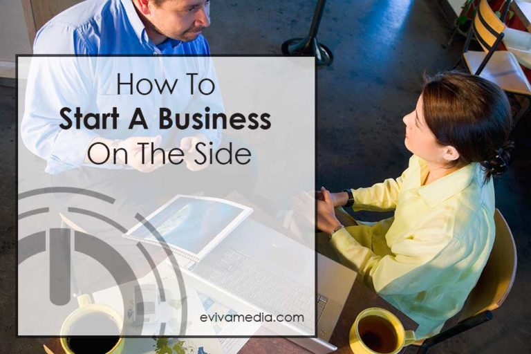how to start a business on the side