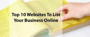 List Business Online